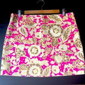 J. Crew Printed Skirt